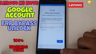 Фото Lenovo K3 Note K50a40 Google Account FRP Bypass Unlock | MS PhoneTech