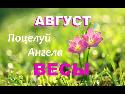 ВЕСЫ _ТАРО-ПРОГНОЗ на АВГУСТ 2019 года