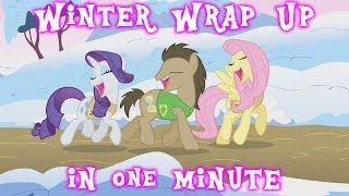 Winter Wrap Up In One Minute