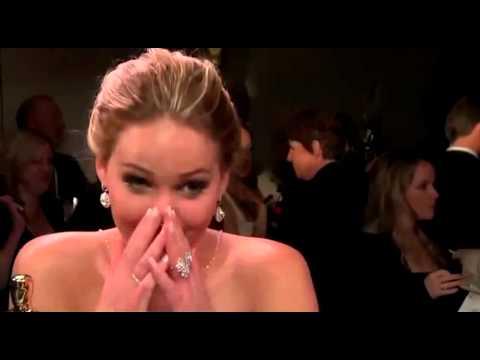 Дженифер Лоуренс отжигает на 'Оскаре'