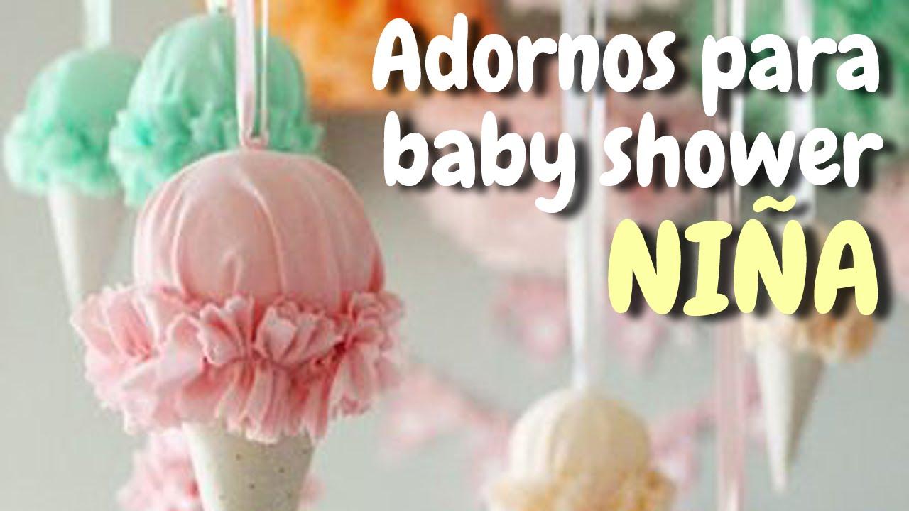 40 Adornos para decorar tu baby shower Nia HD  YouTube