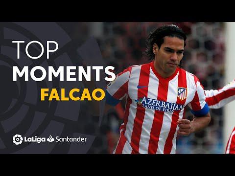 Radamel Falcao: Golazos Con El Atlético De Madrid En LaLiga Santander