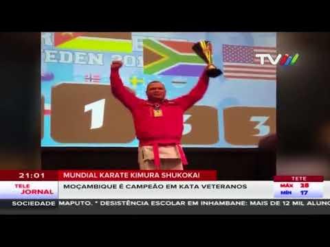 Moçambique é campeão mundial em Karate Kimura Shukokai