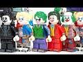 Lego Joker 2019 The Dark Knight Joker Everything Must Go Joker Harley Quinn Unofficial Minifigures