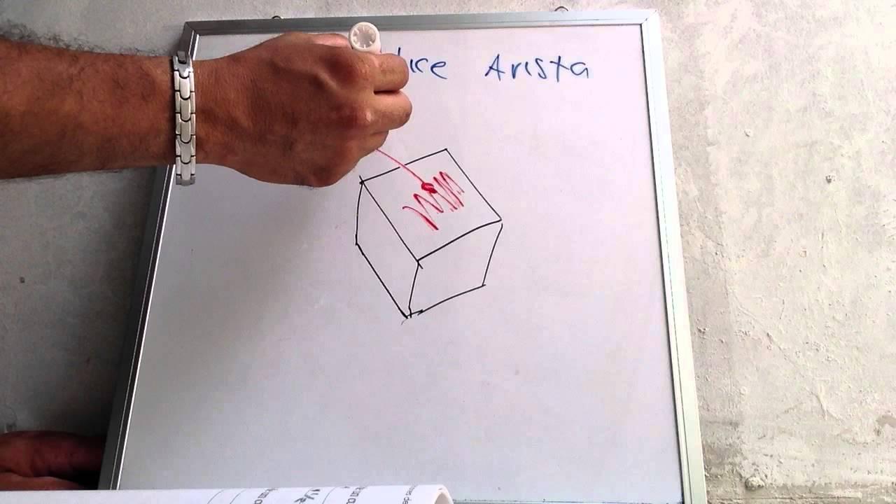 El Cubo (cara,vertice y arista), Matematicas básicas - YouTube