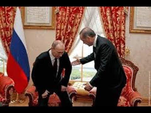 Путин уронил стул Эрдогана