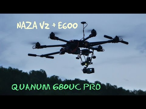New Quanum 680 UC Pro Hexacopter HD