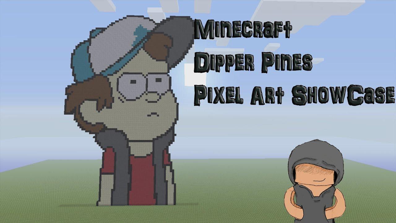 Soos Gravity Falls Wallpaper Minecraft Pixel Art Dipper Pines Showcase Gravity Falls