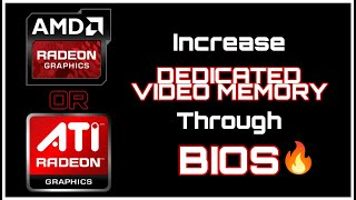 Video How To Increase DEDICATED VIDEO MEMORY Of AMD or ATI Radeon Graphics On Any PC / LAPTOP download MP3, 3GP, MP4, WEBM, AVI, FLV Desember 2017