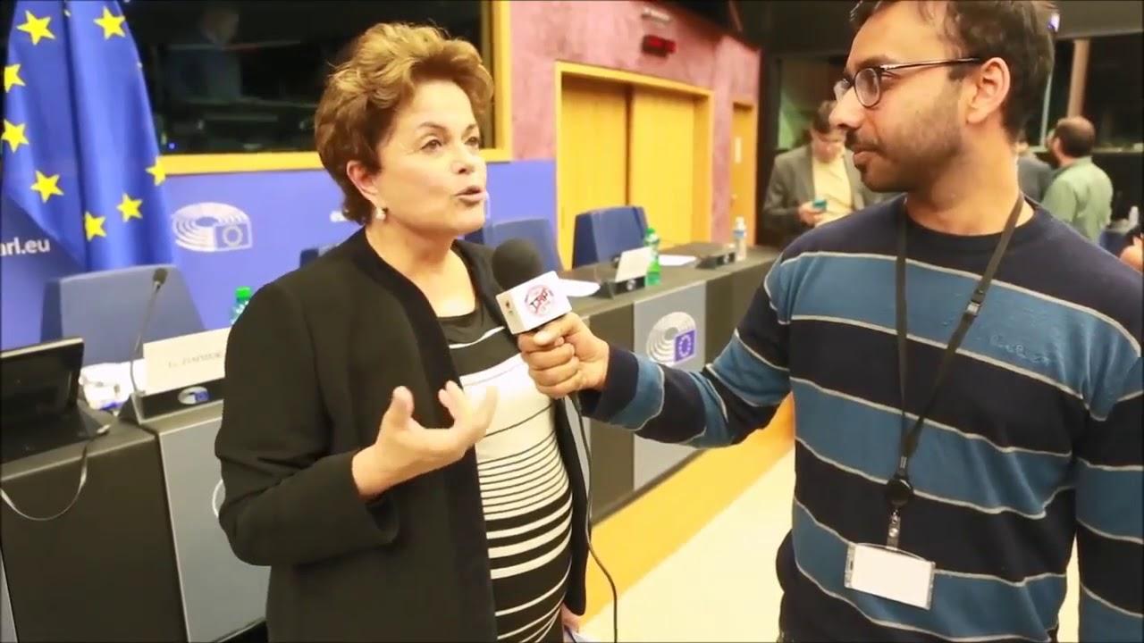 Resultado de imagem para DILma atrapalhada em entrevista