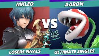Random Flatrealm Losers Finals - T1 | MkLeo Vs. Aaron - Smash Ultimate SSBU