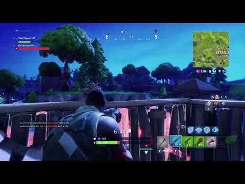 My first montage fortnite battle royal