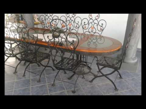 Magnifico Wrought Iron Furniture