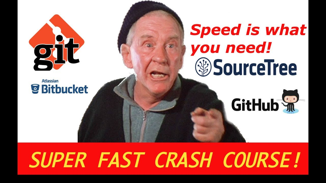 A super fast crash course in Git, SourceTree, BitBucket and Github : Part 1
