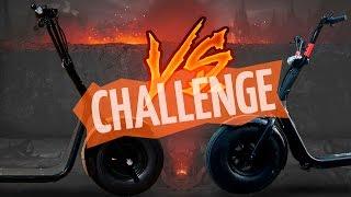 LiKE.BiKE Seev VS Bravis Monster. Мини байк CHALLENGE!