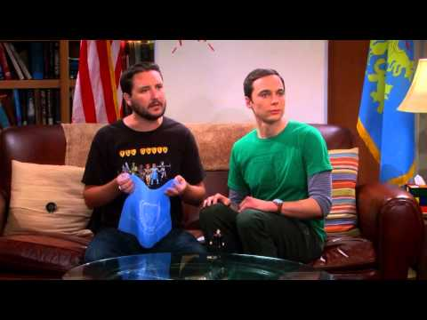 The Big Bang Theory - Fun with Flags 2.0 with Wil Wheaton S06E07 [HD]