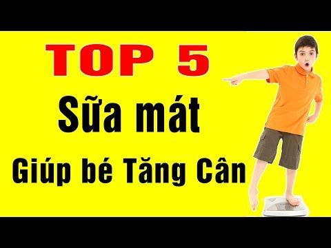 TOP 5 Sữa Mát Giúp Bé Tăng Cân Nhanh Không Lo Táo Bón - SBT Vlog 16