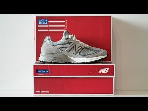 Обзор кроссовок New Balance 990 GL4 Made in USA