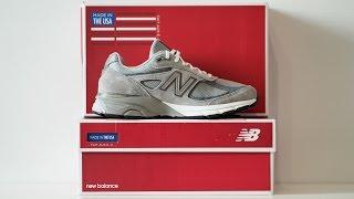 Скачать Обзор кроссовок New Balance 990 GL4 Made In USA