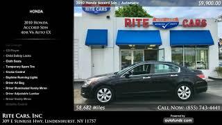 Used 2010 Honda Accord Sdn   Rite Cars, Inc, Lindenhurst, NY