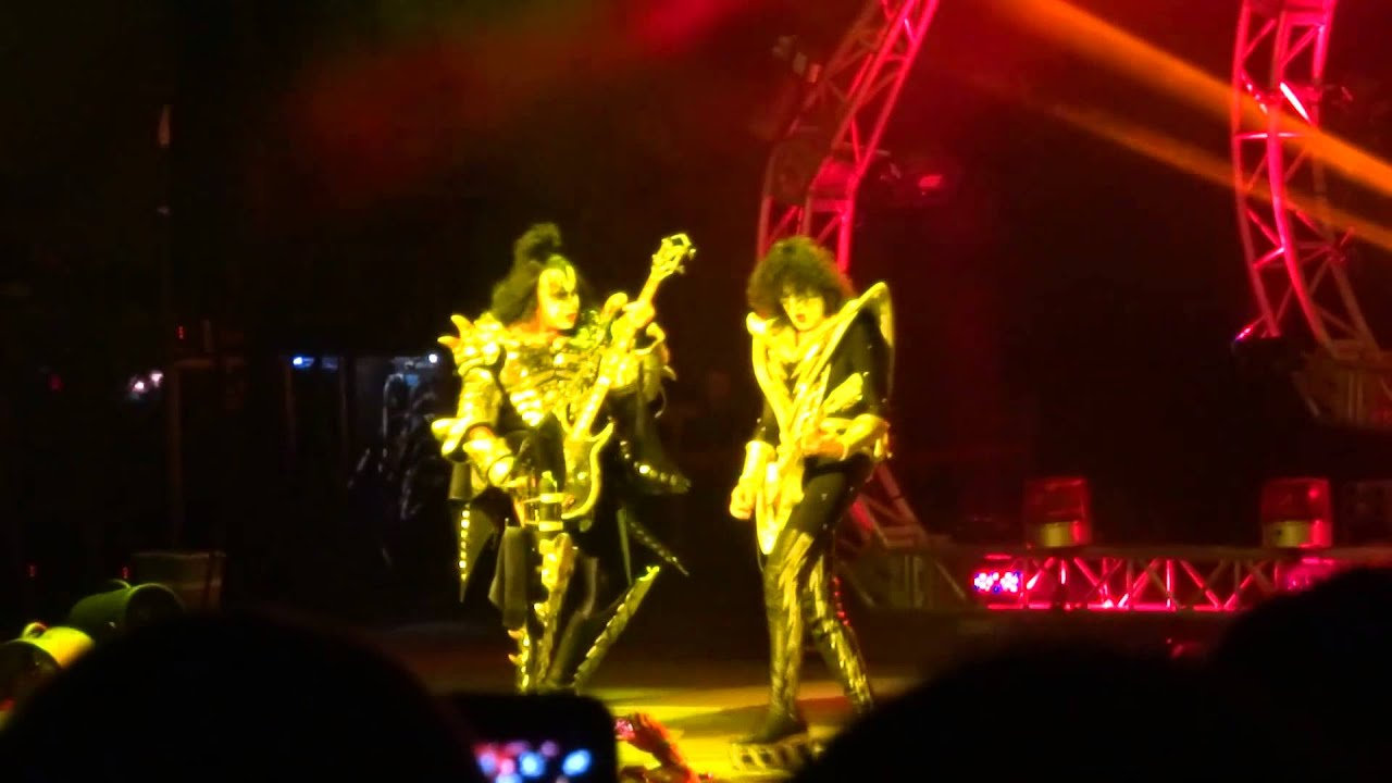 KISS - Hotter Than Hell - LIVE - 2014 - Tinley Park, IL - Chicago