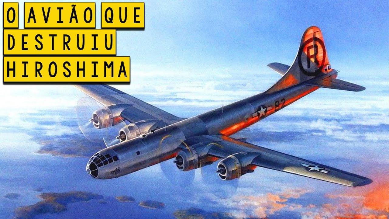 O Enola Gay - O Avião que Destruiu Hiroshima - Curiosidades Históricas - Foca na História #Shorts