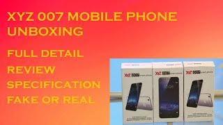 X Y Z 007 Mobile Phone
