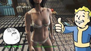 Как раздеть девушку в Fallout 4(хихихи) забыл убавить звук игры так что сорьки_)_) Я в вк http://vk.com/hannibalkek Группа в вк https://vk.com/hannibalgc., 2015-11-15T13:13:30.000Z)