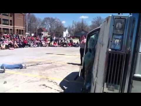 Chariton, Iowa Mock Accident 2013 part 1