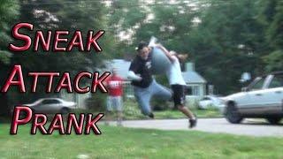 Roller Blading Exercise Ball Death Prank