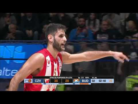 Stratos Perperoglou is the man for the big games (Crvena zvezda mts - Budućnost VOLI, 30.12.2018)