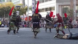 2011年 名古屋まつり 英傑行列(アトラクション①-戦国絵巻)2011/10/16