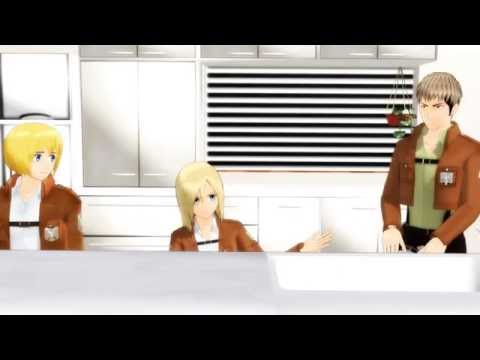 【MMD 60fps】 a talking horse