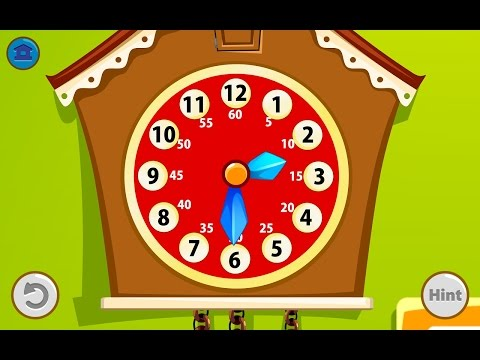 Kids Telling Time Educational Education Android GAMEPLAY VİDEO