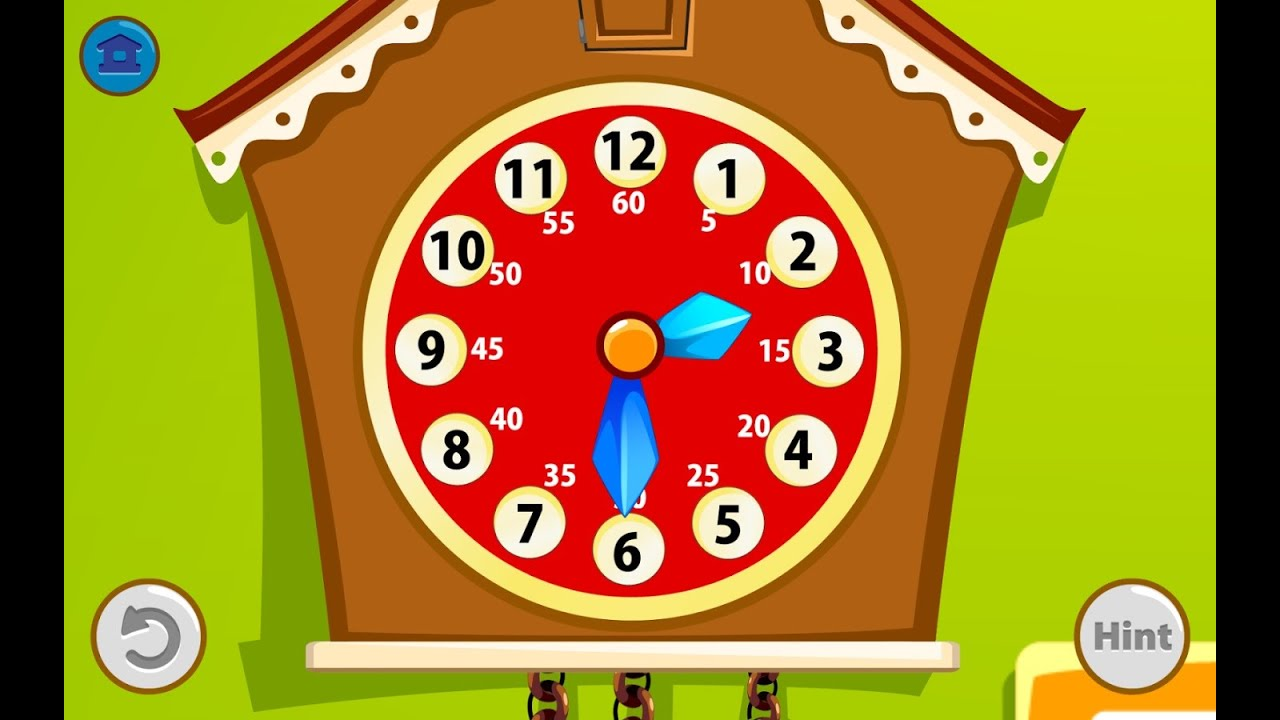 Kids Telling Time Educational Education Android Gameplay