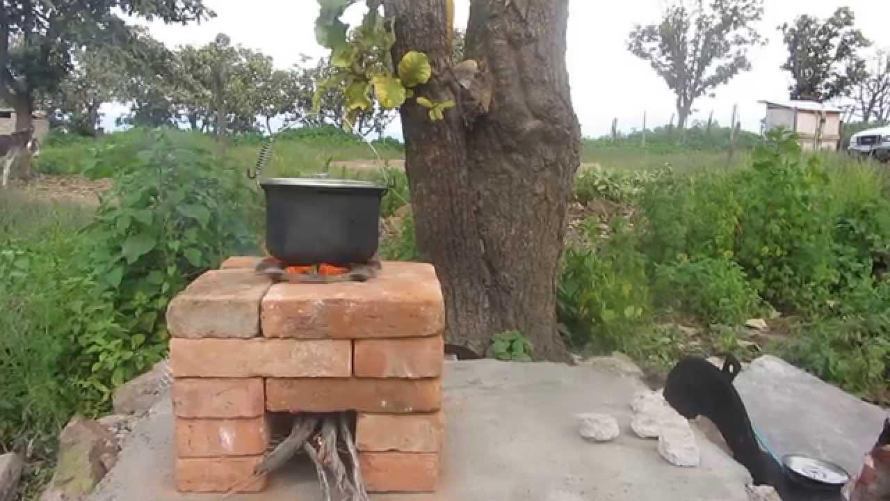 Estufa cohete youtube for Planos para cocina cohete
