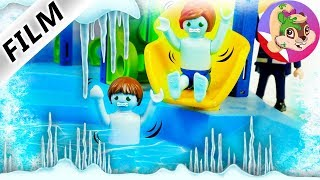 Playmobil Rodzina Wróblewskich ZAMARZLI W AQUAPARKU!
