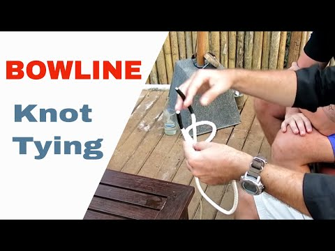 How To Tie a Bowline for the PADI Divemaster and IDC