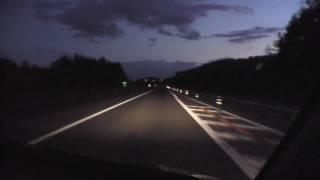 HD版 道央自動車道 上り 比布JCT→比布大雪PA 2008/10/13撮影