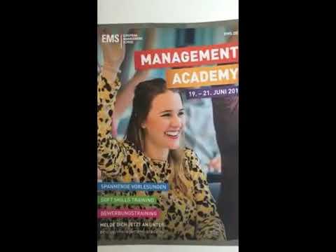 Management Academy @EMS mit Sommer Teamevent