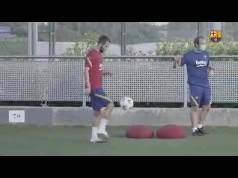 Download Barca training today