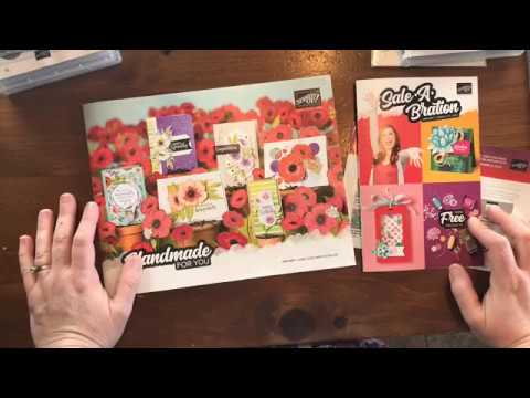Stampin' Up! Mini Catalog & Sale-a-Bration Sneak Peek Unboxing