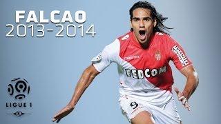 Radamel Falcao - All Goals in 2013-2014 (1st half) - Monaco
