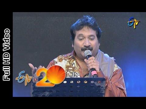 Mano Performance - Lechindi Mahila Lokam Song in Srikakulam ETV @ 20 Celebrations