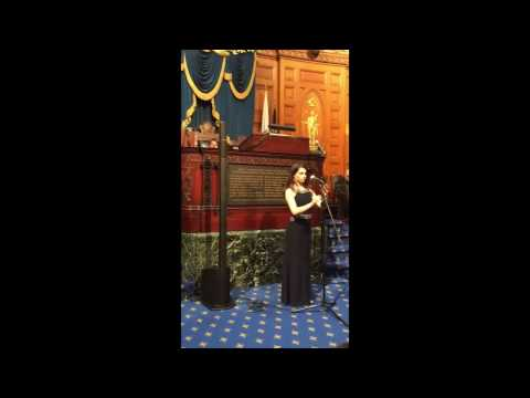 Mary Galstian -  Massachusetts State House Hosts Armenian Genocide 102nd Anniversary