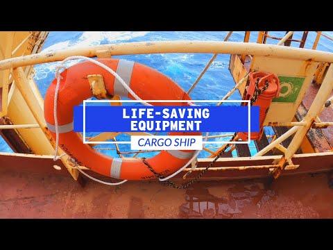Life-Saving Safety Equipment On A Cargo Ship | Life At Sea