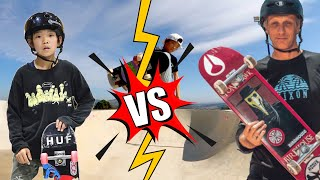 COULD THIS SKATE PRODIGY BEAT TONY HAWK?