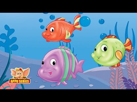 Panchatantra Tales - A Tale Of Three Fish