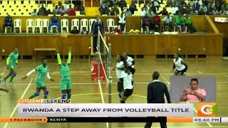 Rwanda a step away from volleyball title in East Africa military games