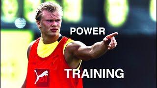 Erling Haaland: A Footballers Gym Workout? Prt27